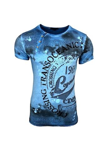 Rusty Neal T-Shirt mit großem Print kaufen