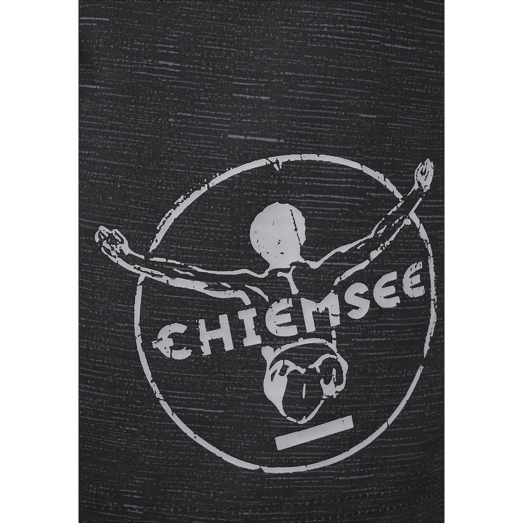 Chiemsee Badeshorts, in melierter Optik