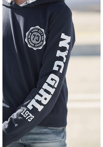 Arizona Kapuzensweatshirt, in kurzer Form kaufen
