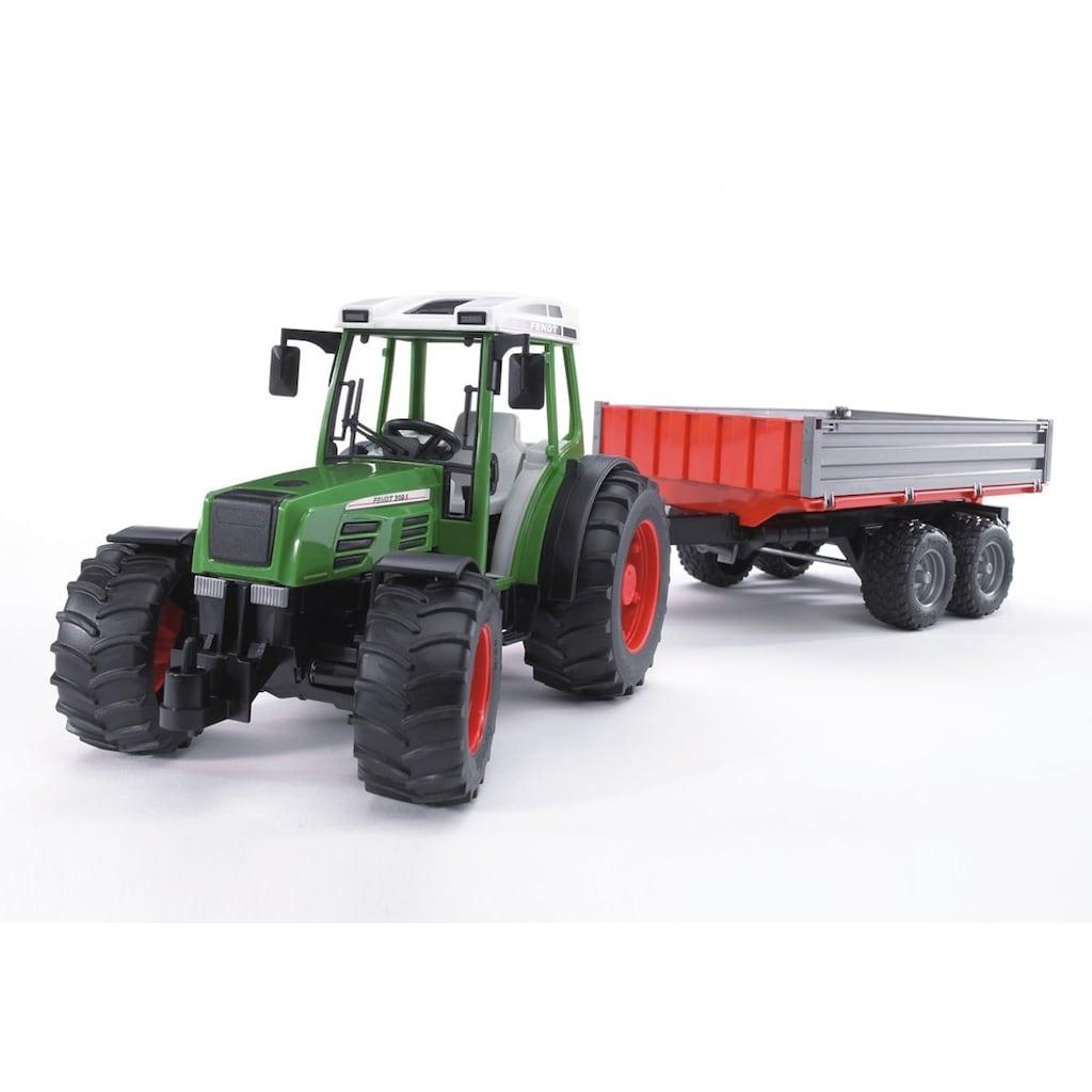 Bruder® Spielzeug-Traktor »Fendt 209 S + Bordwandanhänger - grün«, Made in Germany
