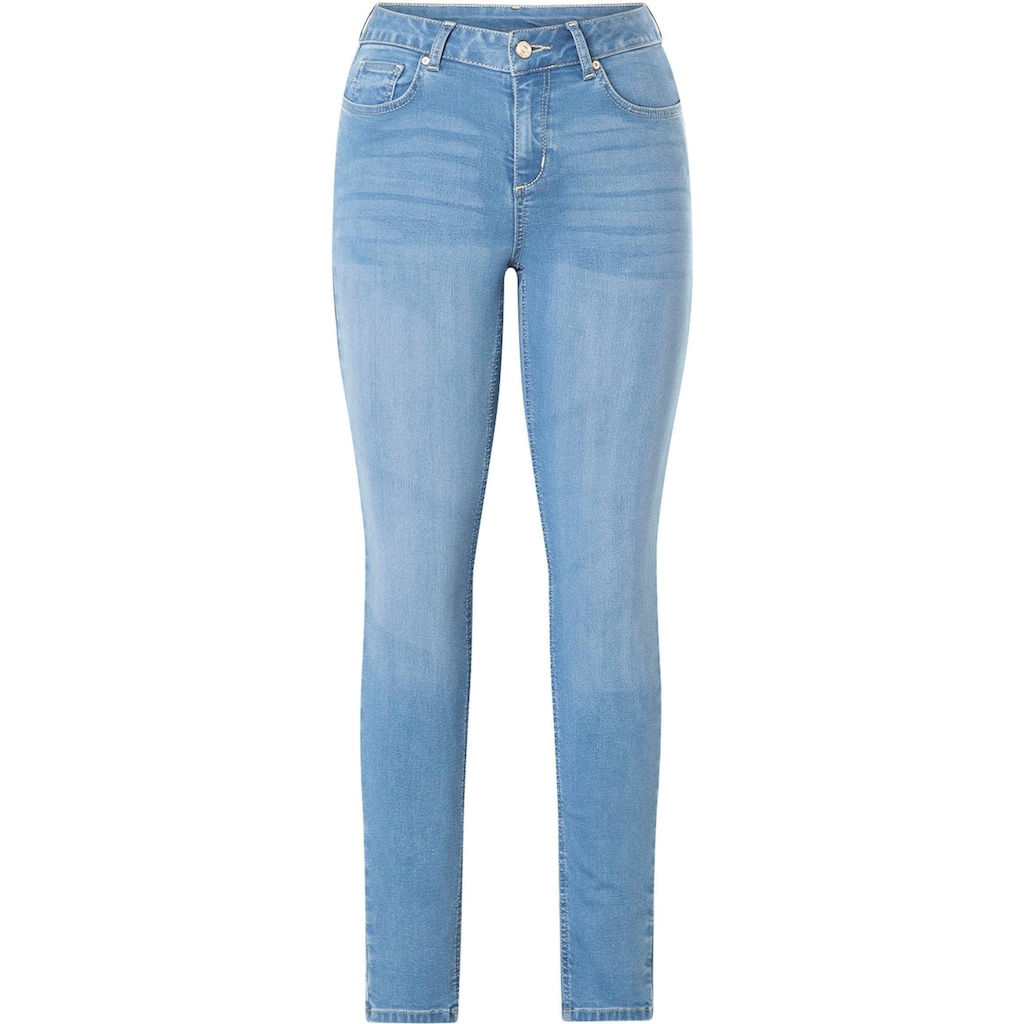 DNIM by Yest Slim-fit-Jeans »Joy«, Schmale geschnittener Slim-Fit