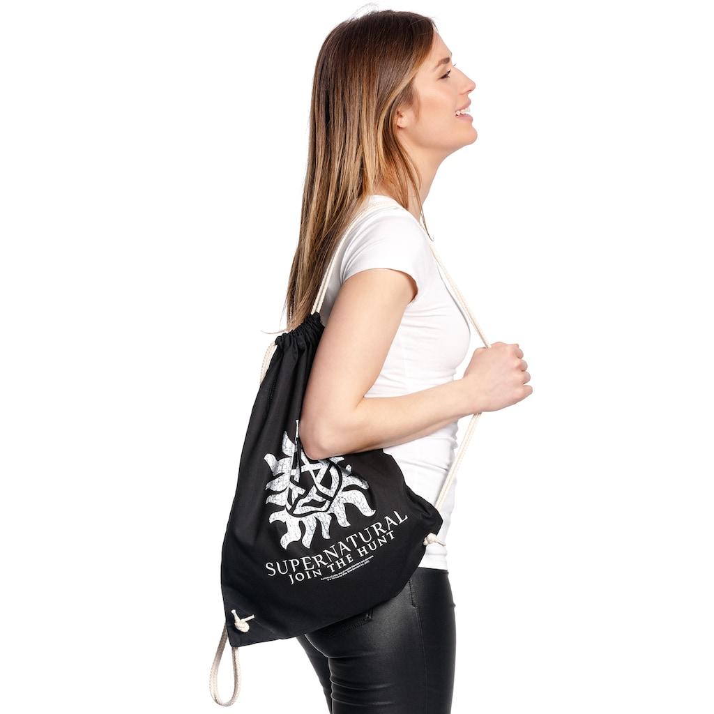 Warner Turnbeutel »Supernatural Symbol Gym Bag«