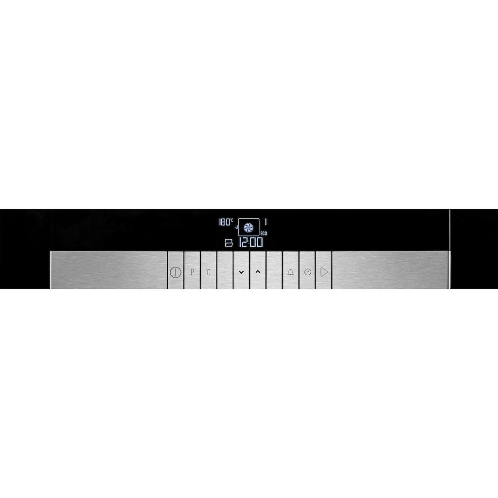 Grundig Einbaubackofen »GEBM 45011 B«, GEBM 45011 B, mit 1-fach-Teleskopauszug, easyClean