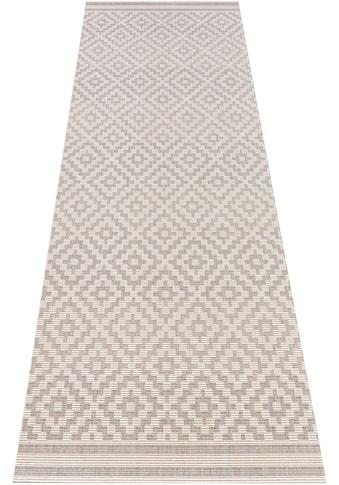 bougari Läufer »Raute«, rechteckig, 8 mm Höhe, Flachgewebe, In- und Outdoor geeignet,... kaufen