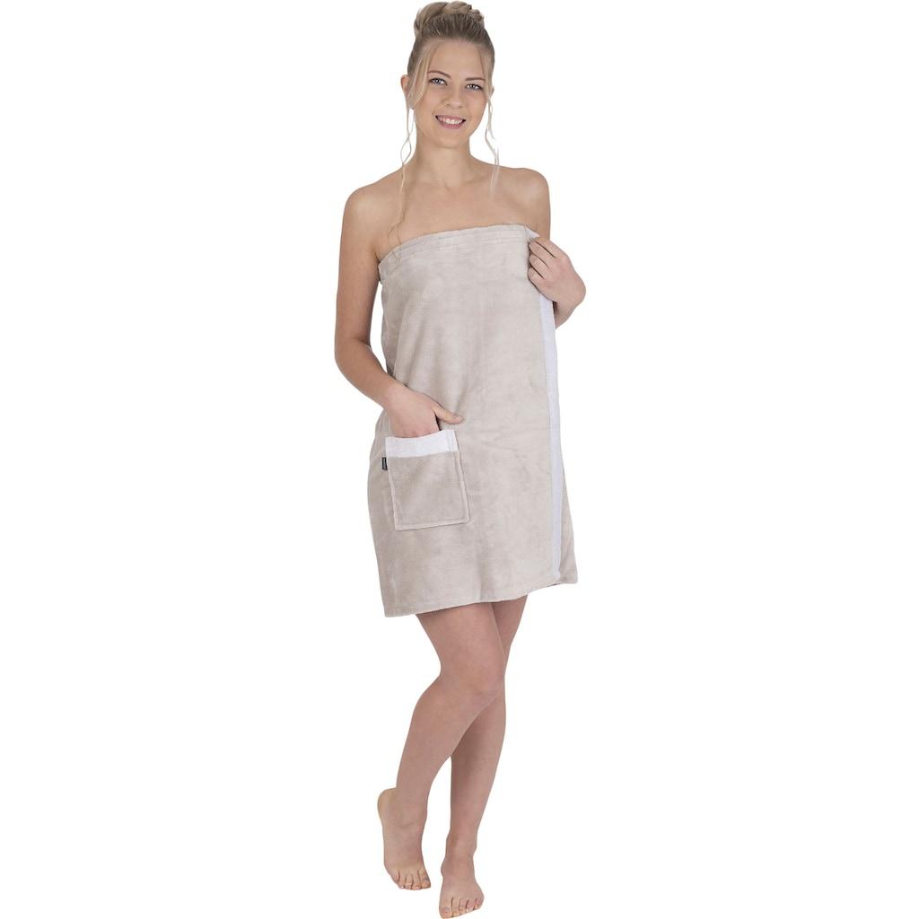 Wewo fashion Sarong »9589T«, (1 St.), kuschelig weich