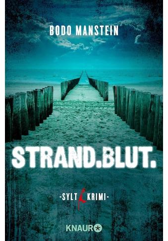 Buch »Strand.Blut. / Bodo Manstein« kaufen