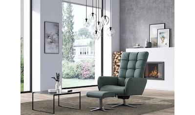W.SCHILLIG Sessel »deXxter«, Sessel mit Hocker, mit Wipp-Dreh-Funktion, mit Steppung... kaufen