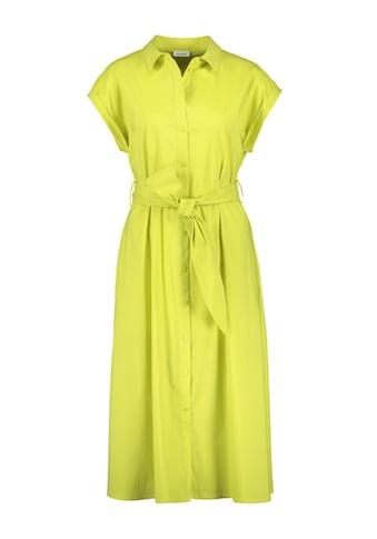 GERRY WEBER Kleid Gewebe »Hemdblusenkleid mit breitem Gürtel« kaufen
