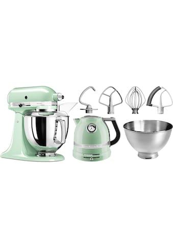 KitchenAid Küchenmaschine »Artisan 5KSM175PSEPT«, 300 W, 4,8 l Schüssel, mit Gratis... kaufen