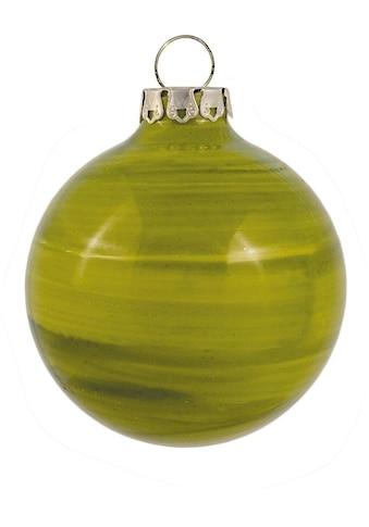 "Thüringer Glasdesign Weihnachtsbaumkugel ""Holzoptik"" kaufen"