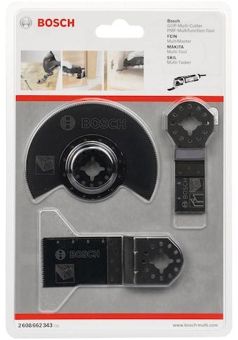BOSCH Sägeblatt »3-teiliges Holz-Basis-Set«, HCS-Segmentsägeblatt Wood (1x);... kaufen