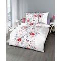 Kaeppel Bettwäsche »Marie«, mit Blüten und Schmetterlingen bedruckt