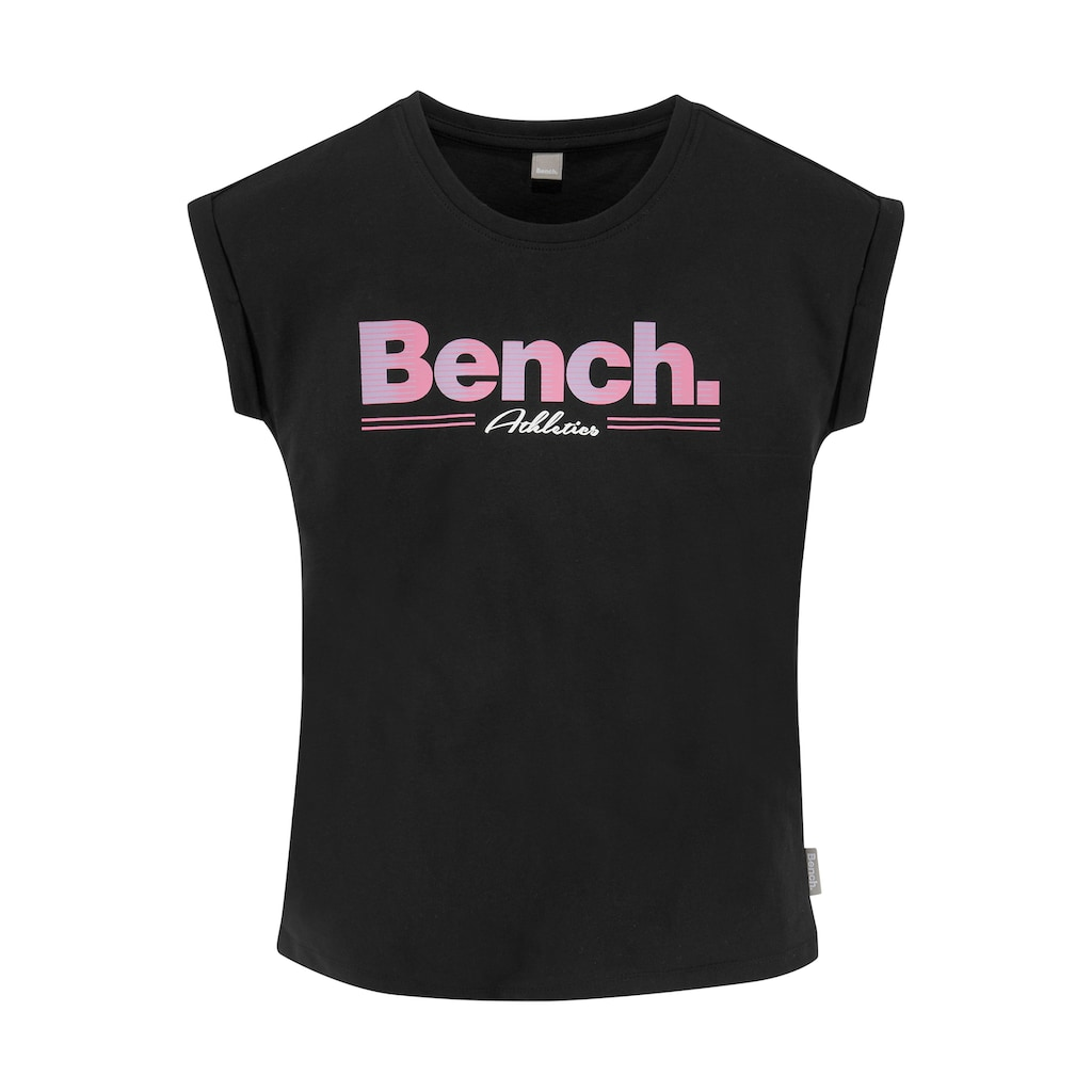 Bench. T-Shirt, legeres Logoshirt