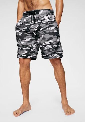Lonsdale Boardshorts »LOTHORP«, Taillenbund mit seitlichen Gummizügen kaufen