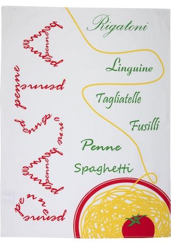 stuco Geschirrtuch »Pomodoro«, (Set, 3 tlg.) kaufen