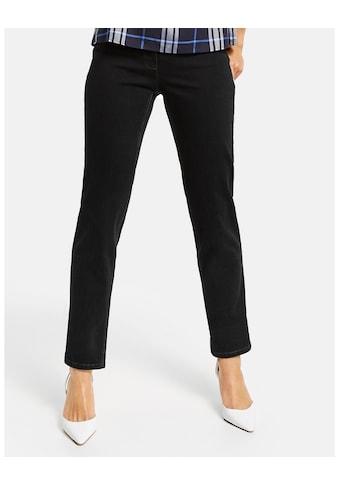 GERRY WEBER Hose Jeans lang »5 - Pocket Jeans Straight Fit Kurzgröße« kaufen
