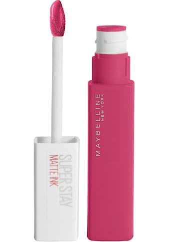 MAYBELLINE NEW YORK Lippenstift »Super Stay Matte Ink Pinks« kaufen