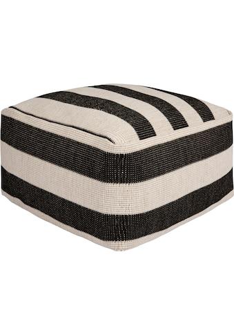 freundin Home Collection Sitzkissen »Delilia«, In- und Outdoor geeignet, Pouf, waschbar kaufen