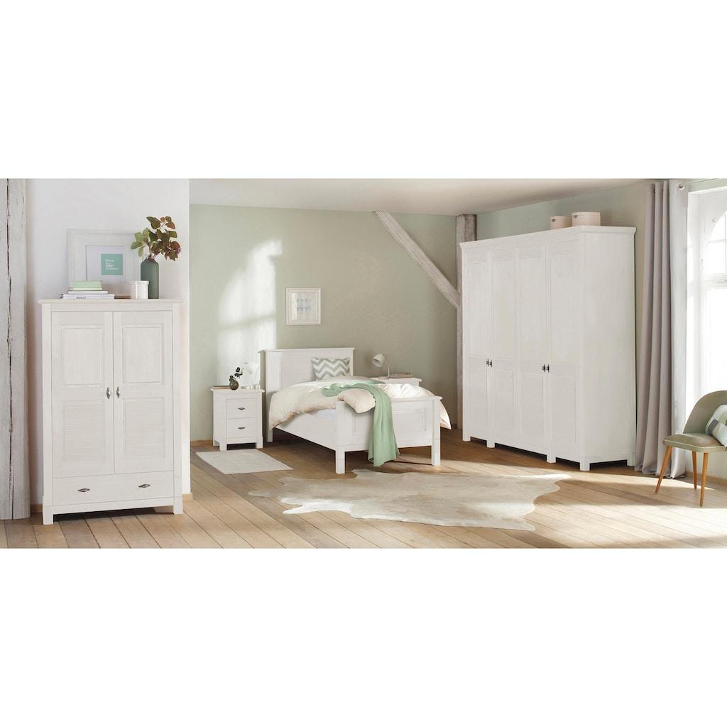 Home affaire Wäscheschrank »Rauna«, aus massiver Kiefer