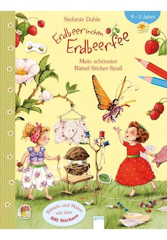 Buch »Erdbeerinchen Erdbeerfee. Mein schönster Rätsel-Sticker-Spaß / Stefanie Dahle,... kaufen
