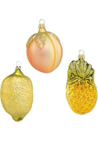 Thüringer Glasdesign Dekokugel »Früchte«, aus Glas, mundgeblasen, handdekoriert kaufen