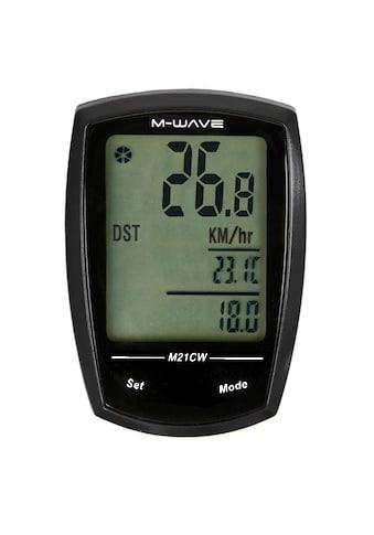 M - WAVE Fahrradcomputer »M21W« kaufen