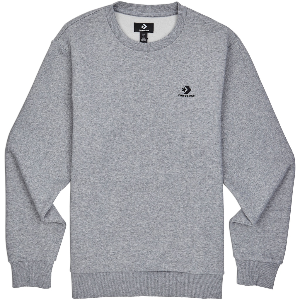 Converse Sweatshirt »EMBROIDED STAR CHEVRON CREW«