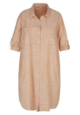 VIA APPIA DUE Hemdblusenkleid, mit gestreiftem Muster kaufen