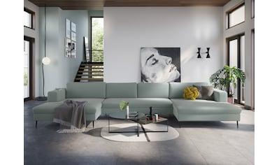 DOMO collection Wohnlandschaft »Modica«, XXL, in moderner Optik mit, 2 großzügigen... kaufen