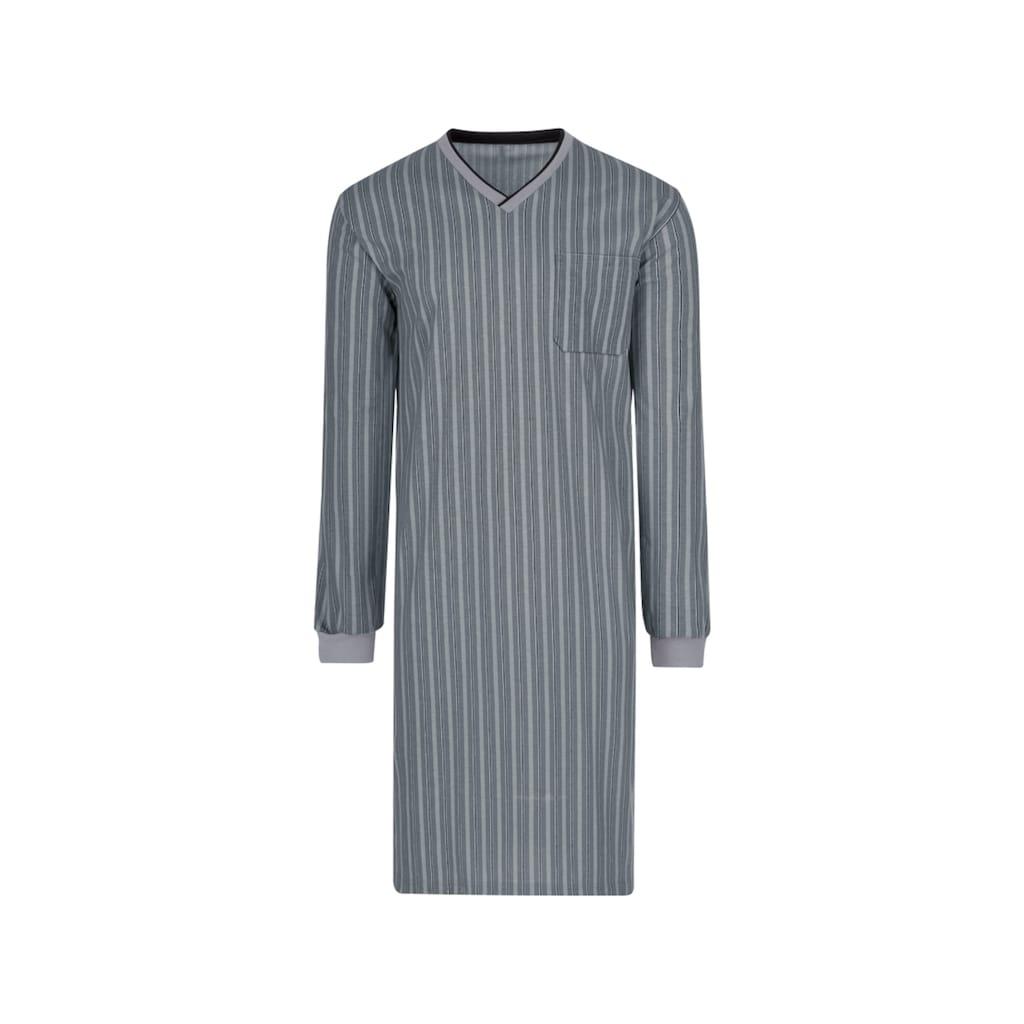 Trigema Nachthemd, mit V-Ausschnitt