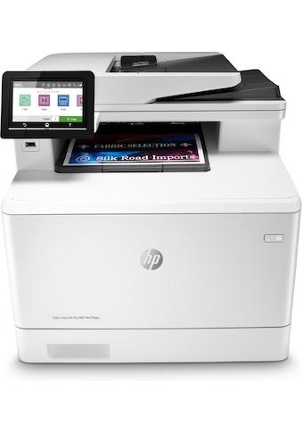 HP HP Color LaserJet Pro MFP M479fdw »herausragende Sicherheitsfunktionen« kaufen