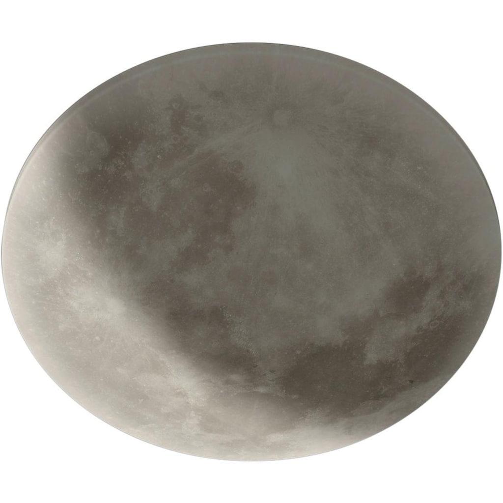 TRIO Leuchten LED Deckenleuchte »Lunar«, LED-Board, Warmweiß, Fernbedienung,integrierter Dimmer,Nachtlicht