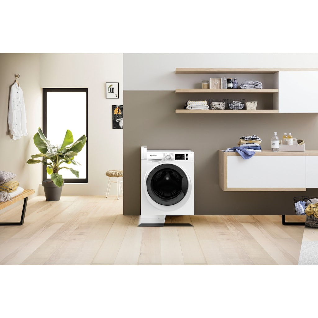 BAUKNECHT Waschmaschine »Super Eco 8421«, Super Eco 8421, 8 kg, 1400 U/min, 4 Jahre Herstellergarantie