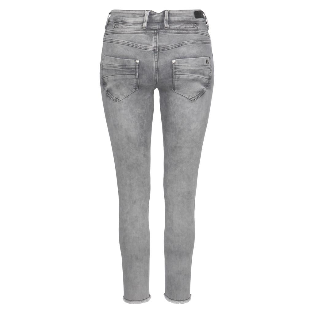 GANG Ankle-Jeans »Medina«, mit leicht ausgefranster Kante am Saumabschluss