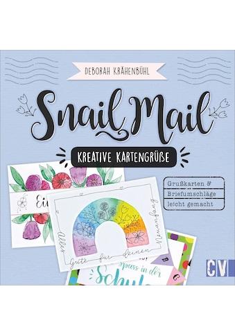 Buch »Snail Mail - Kreative Kartengrüße / Deborah Krähenbühl« kaufen