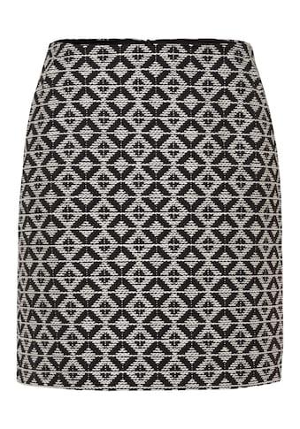 MORE&MORE Big Rhomb Jacquard Skirt Active kaufen