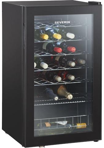 Severin Weinkühlschrank KS 9894, für 33 Standardflaschen á 0,75l kaufen