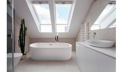 HOME DELUXE Whirlpool - Badewanne »Bola Plus«, BxTxH: 170 x 80 x 58 cm, freistehend kaufen