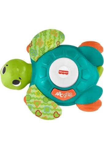 Fisher-Price® Lernspielzeug »BlinkiLinkis Meeresschildkröte«, mit Licht- und... kaufen