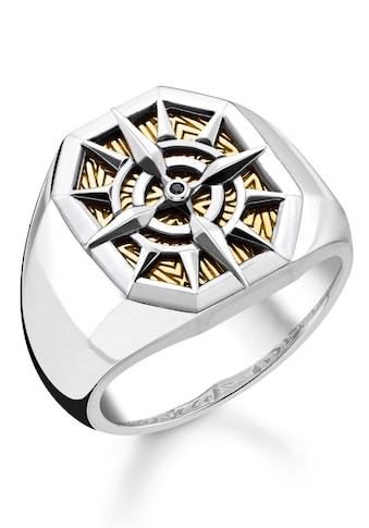 THOMAS SABO Fingerring »Kompass Gold, TR2278 - 849 - 7 - 52, 54, 56, 58, 60, 62, 64, 66, 68« kaufen