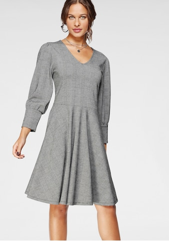 Bruno Banani A-Linien-Kleid, mit Puffärmeln-NEUE KOLLEKTION kaufen