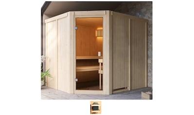 Karibu Sauna »Henrika«, ohne Ofen kaufen