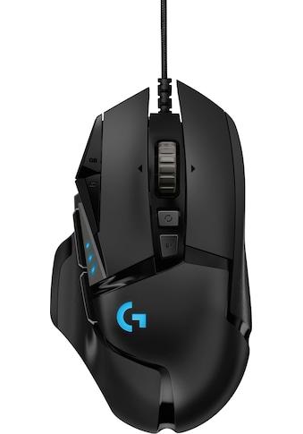 Logitech G »G502 HERO High Performance« Gaming - Maus (kabelgebunden, 16000 dpi) kaufen