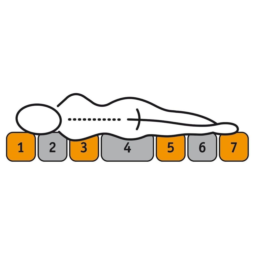 f.a.n. Schlafkomfort Taschenfederkernmatratze »Tonnentaschenfedermatratze 140/200 »Pro Vita First Class«, 24 cm hoch, f.a.n.«, (1 St.)