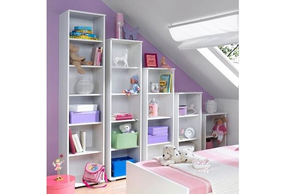 Kinderregale in Weiß