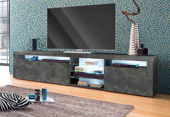 graues TV-Board