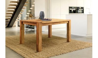 Home affaire Esstisch »Tim«, aus massivem Eichenholz, in fünf verschiedenen Breiten... kaufen