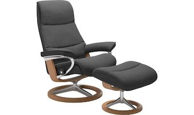Stressless® Relaxsessel »View«, mit Signature Base, Größe S,Gestell Eiche kaufen