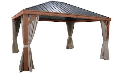 LECO Seitenteile für Pavillon 4 Seitenteile für Luxus - Hardtoppavillon kaufen