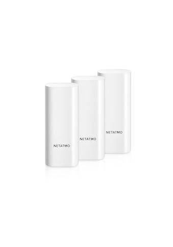 Netatmo Smart-Home-Station »Smarte Tür- und Fenstersensoren«, Smarte Sensoren zum Schutz vor Einbrüchen kaufen